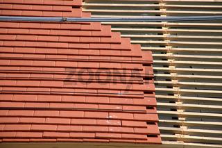 Dach eindecken