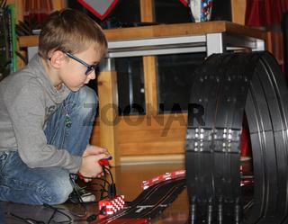 Spielendes Kind