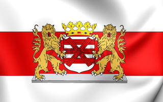 3D Flag of the Enschede