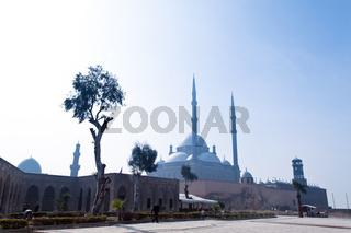 Ägypten, Kairo. Mohammed Ali Moschee. Aussen.
