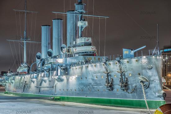 Armoured cruiser Aurora, St.Petersburg, Russia
