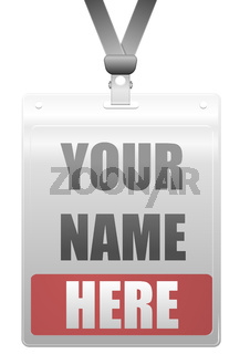 Corporate Name Lanyard