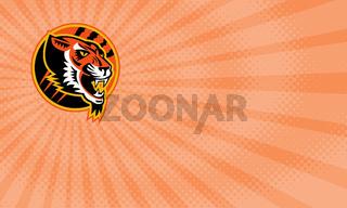 Tiger Athletics Business card