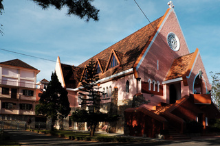 Domaine de maria church, Da Lat tourism