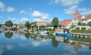 Plau am See,Mecklenburgische Seenplatte,Mecklenburg-Vorpommern,Deutschland