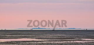 Nordsee, Watt, Cuxhaven, Neuwerk