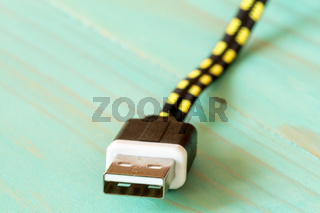 USB cable close-up