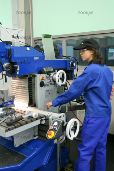 Apprentice in atypical female occupations