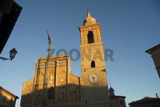 Church restoration works San Ginesio