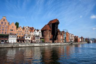 City of Gdansk in Poland
