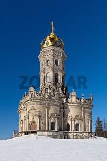 Znamensky church in Dubrovitsy