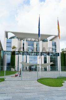Bundeskanzleramt, Büro der Kanzlerin in Berlin