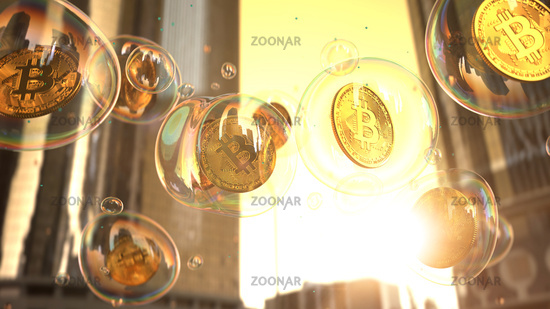 Bitcoin Bubbles City