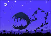 Evil Plant Monster Cartoon