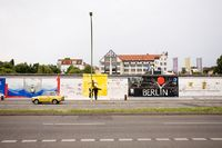 East Side Gallery, Berlin Wall, Berlin, Germany