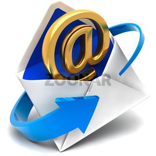 Email sign  envelope