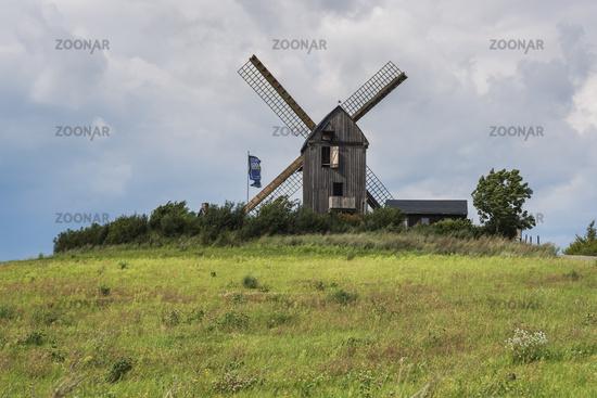 Bockwindmühle Pudagla | windmill Pudagla
