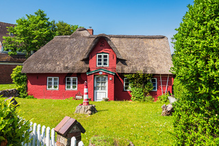 Historisches Haus in Norddorf auf der Insel Amrum