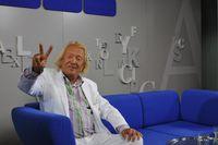 German 'Playboy' Rolf Eden visited the Frankfurt Bookfair to present his autobiography