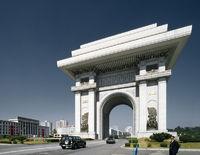 Pyongyang Arc de Triomphe