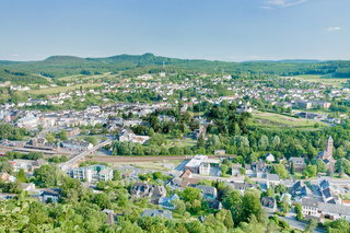 view on climatic spa town Gerolstein