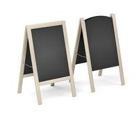 Wooden menu display boards