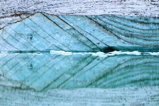 Angel Glacier Meltwater - Canada