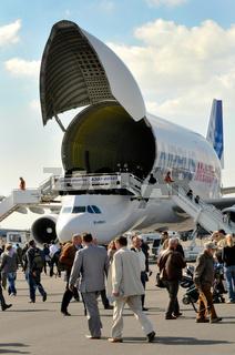 Airbus Beluga auf der ILA Berlin-Brandenburg