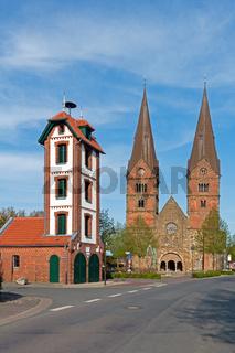 Stiftskirche St. Materniani et St. Nicolai in Bücken, Grafschaft Hoya, Niedersachsen, Deutschland