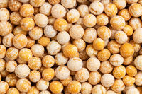background - raw dried whole yellow peas