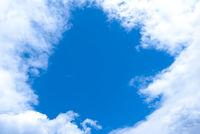 Window in clouds