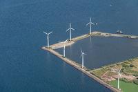 Lynettens Wind Power Park in Copenhagen