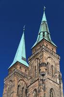 Türme der St. Sebaldus-Kirche