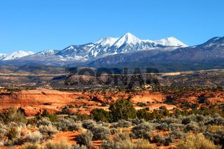 Monti-La Sal National Forest of Utah
