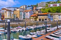 Fishing Port, Mutriku Harbour, Mutriku, Spain