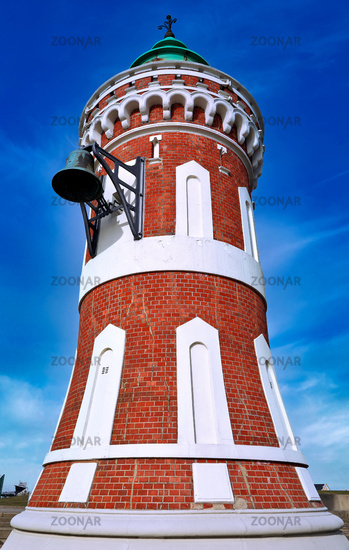 Kaiserschleuse Ostfeuer, popularly known as Pingelturm, Bremerhaven - the famous Pingelturm at Bremerhaven, Germany