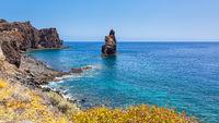 Coast of  El Hierro Island