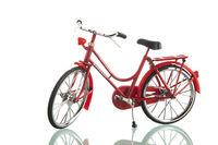 Red ladies bike