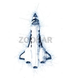 Shuttle sketch