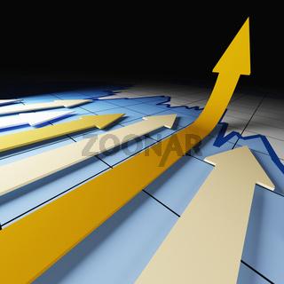graph arrows stat
