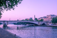 Very Early Morning on the Seine Embankment