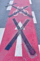 sign on the street