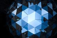 Hamburg, Society mirror, Olafur Eliasson, Light installation, City Hall, Germany