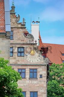 Nürnberg ist eine Großstadt in Bayern