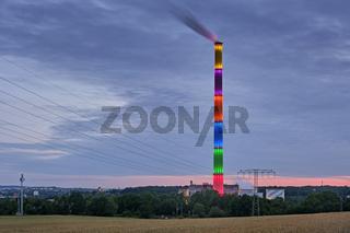 Heizkraftwerk Chemnitz Nord.