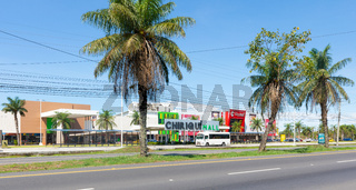 Panama David, City Mall and Chiriqui Mall buildings
