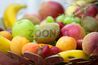 The composition of the fruit as a nice background