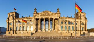 Berlin Reichstag Bundestag Regierung Parlament Reichstagsgebäude Panorama in Deutschland