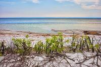 Small Beach in Jastarnia Town on Hel Peninsula