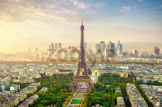 Haze over Paris